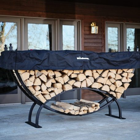 8ft Woodhaven Crescent Firewood Rack