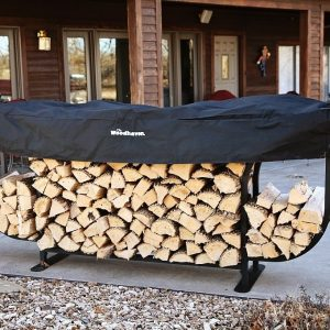 9ft Woodhaven Courtyard Firewood Rack
