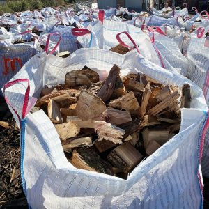 Miscut Hickory Wood Bags